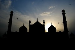 Jama Masjid at Dawn