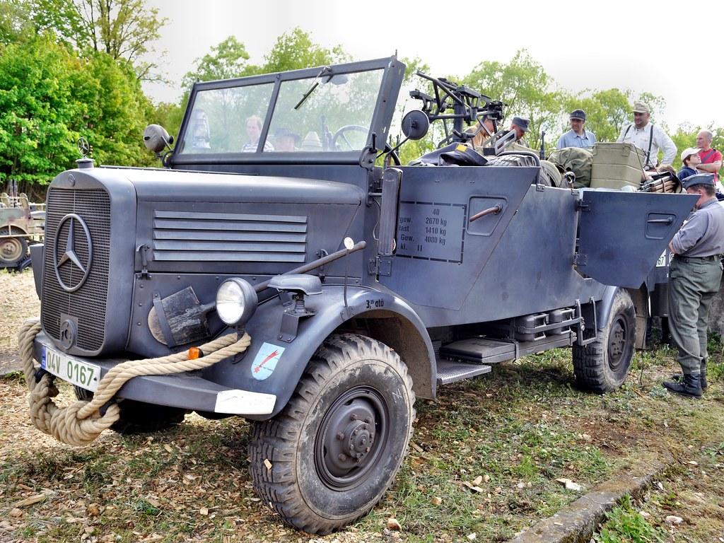 mercedes-benz l1500a kfz.40 command car | thomas t. | flickr