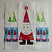 Santa and His Minions - Christmas Fabric Bee Blocks