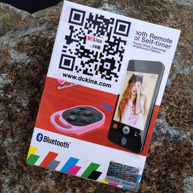 Bluetooth iOS and Android Shutter Remote