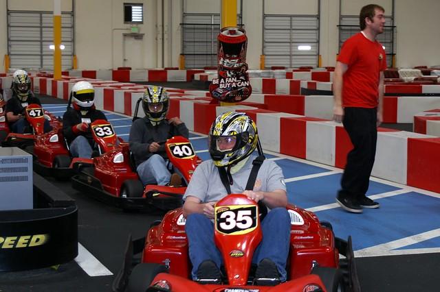 Geoff Go-Karting