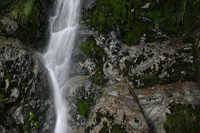 When water falls...