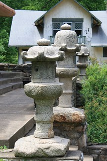 Image of Japanese Pagoda. maryland lanterns colleges forestglen nationalparkseminary japaneselanterns montgomerycounty stonelanterns walterreedannex finishingschools nationalparkcollege