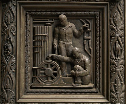 Detail, Penn Mutual Life Insurance Company Door (Philadelphia, PA)