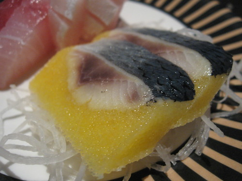 Sashimi with yellow roe can anyone tell me what is it for Best sashimi fish