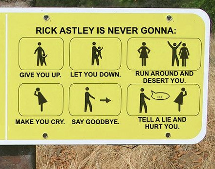 you've been rick-rolled! | Flickr - Photo Sharing!