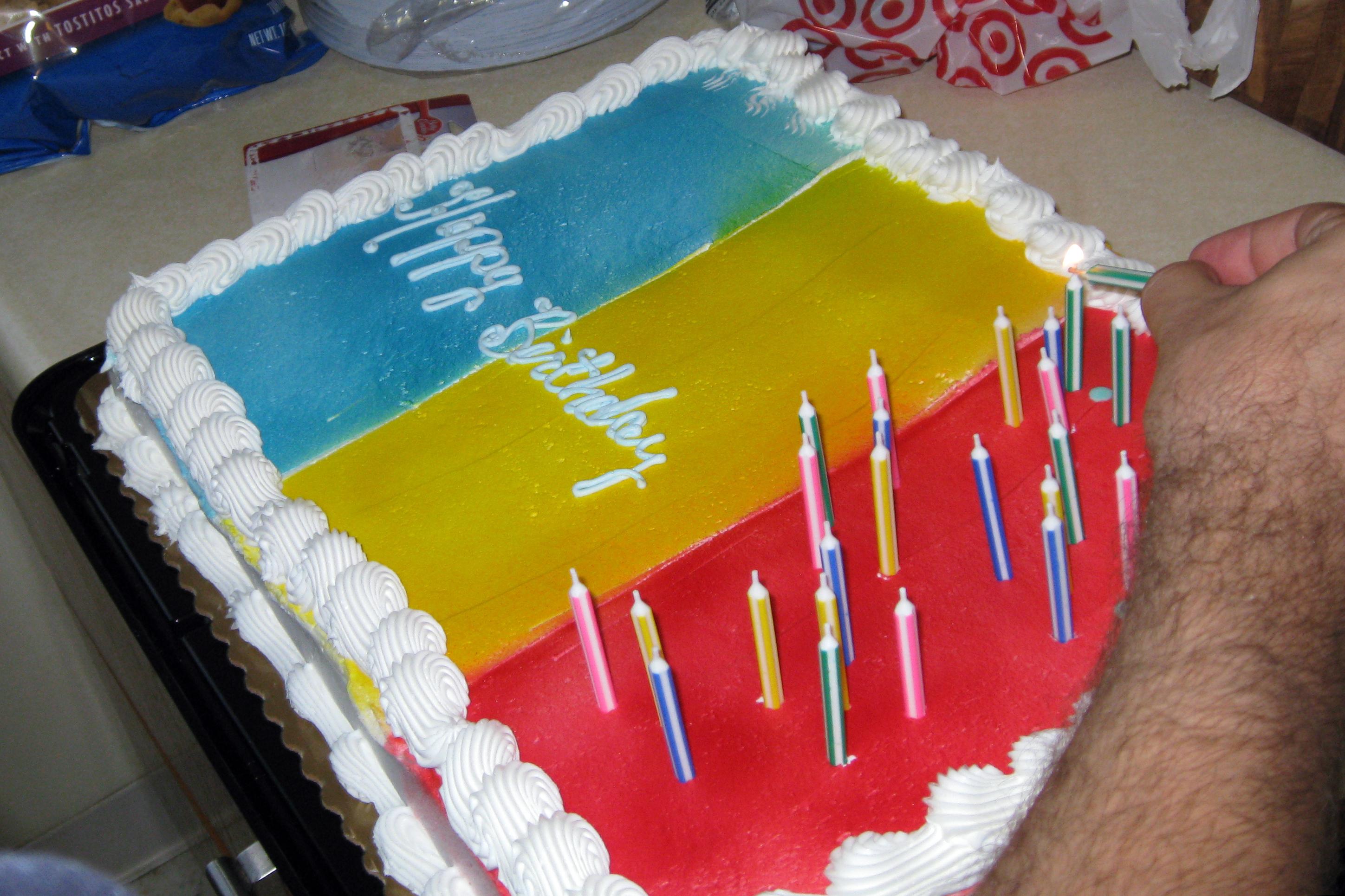 Romanian Birthday Cake