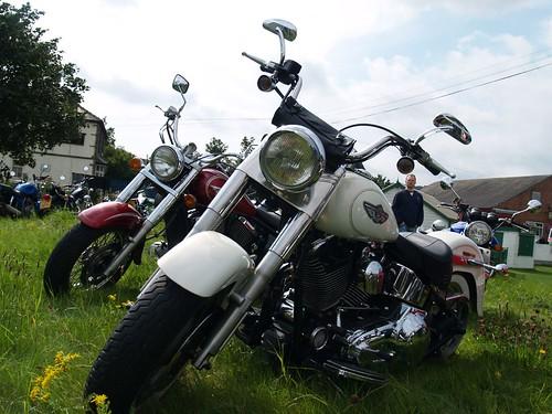 Harley Davidson Fatboy Motorbikes - 2002