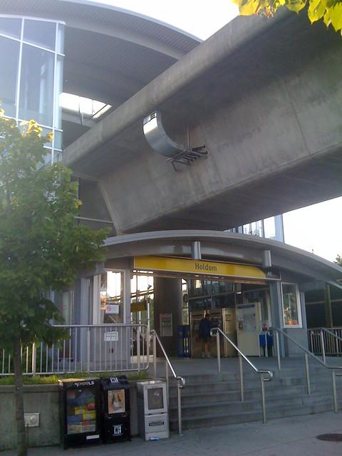 Holdom Station Entrance