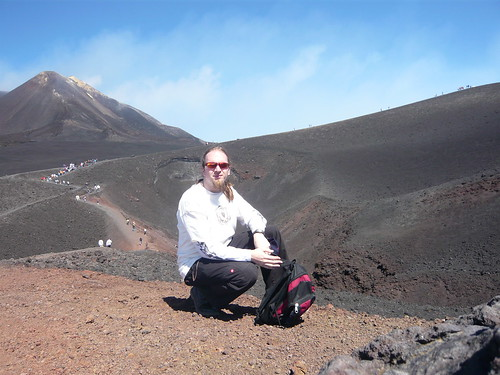 Me sitting on top of Etna
