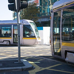Luas Stop Beside Busaras