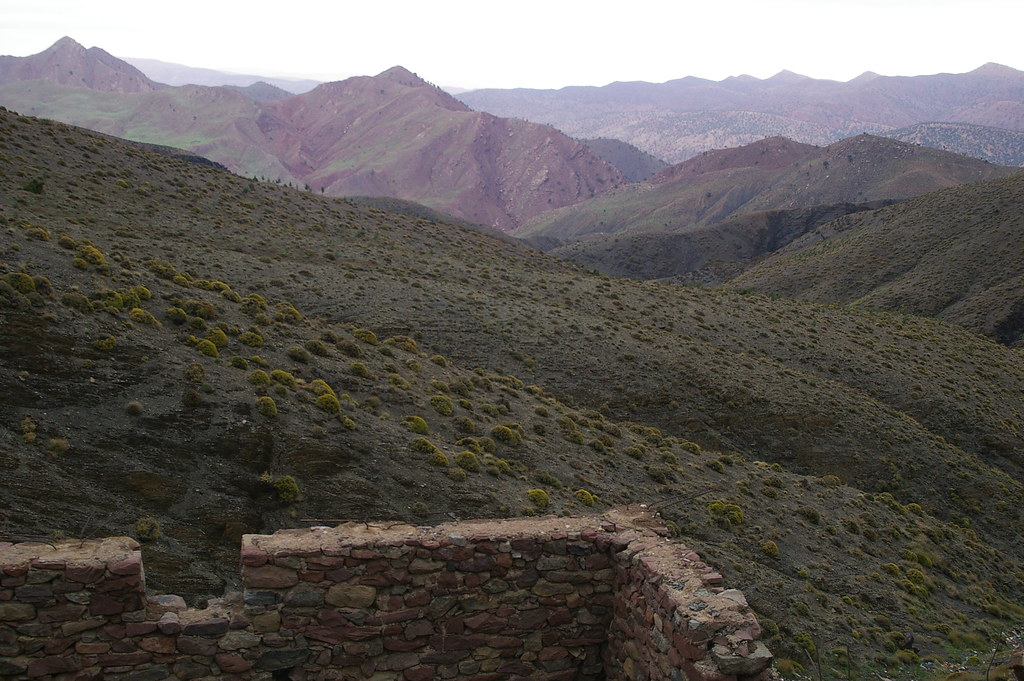 High Atlas mountain Pass