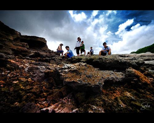 me clouds landscape island rocks philippines arnel bicol alvin rhea eb norte islanders virgie timershot vinzons camarines harven soul101 kinamanukan