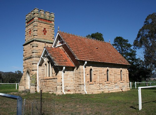 Havilah Memorial Anglican Church, Havilah, NSW.