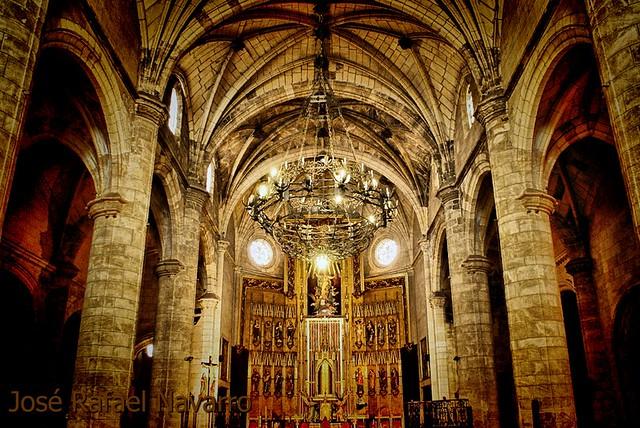 El retablo mayor de la Parroquia de La Asunción de Hellín