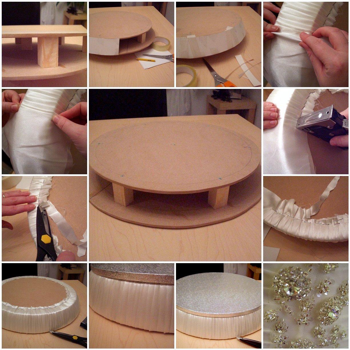 Как сделать круглую основу для торта