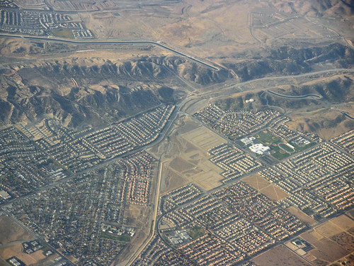 Above San Andreas fault, Palmdale and Desert View Highlands–II
