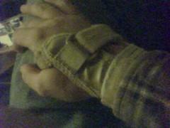 08.11.30 - Year 2, Day 34 - Wrist Splint