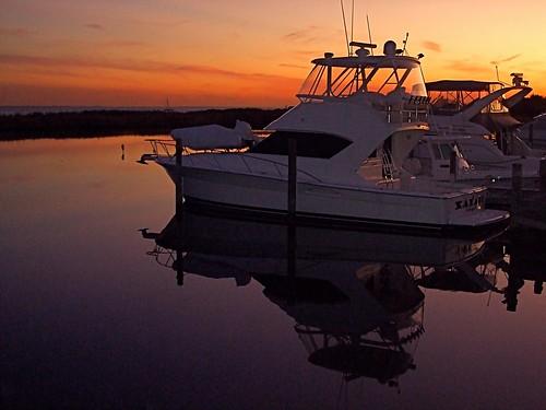 blue sunset red newyork reflection water boats dusk longisland boating sailboats imran imrananwar