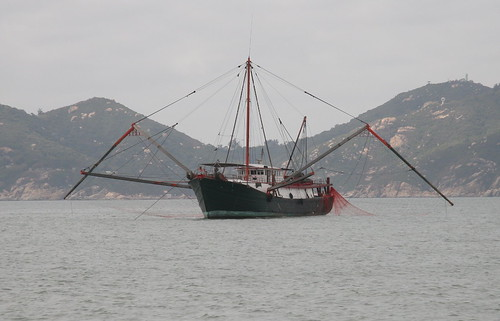 Chinese fishing boat