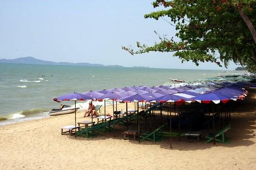 Pattaya Beach near Bangkok, Thailand