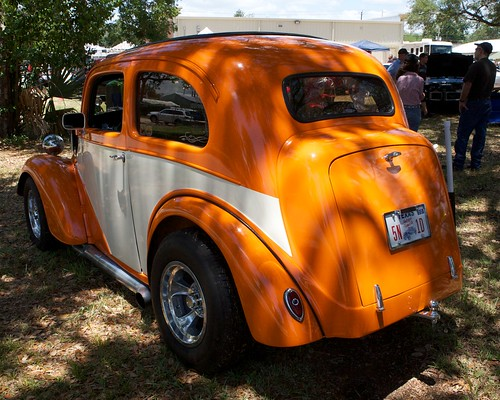show county orange tractor 1948 car truck freedom texas motorcycles fest wharton 48 supercharger supercharged anglia blower blowen