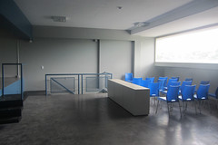 classroom(0.0), auditorium(0.0), conference hall(0.0), office(0.0), floor(1.0), room(1.0), property(1.0), interior design(1.0), waiting room(1.0),