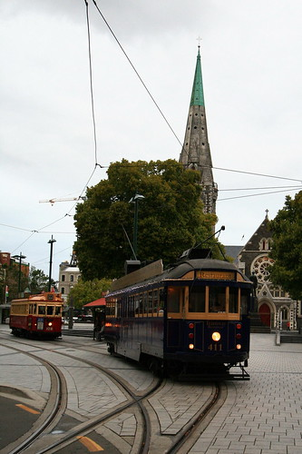 Christchurch~Trams