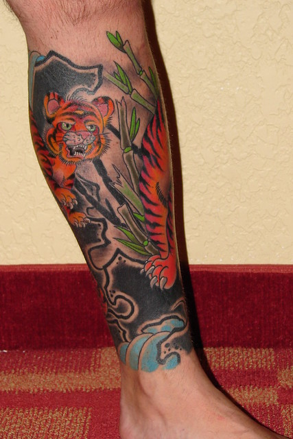 Leg Tattoo - Left | Flickr - Photo Sharing!