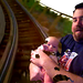 Dad Endangers 3 Month Old Baby On Rollercoaster
