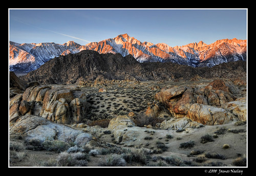 california morning mountains nature sunrise landscape sierranevada lonepine hdr alabamahills 5xp tthdr jamesneeley