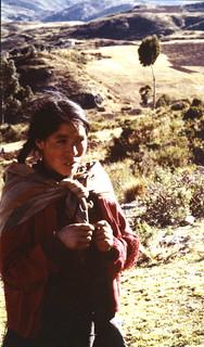 Woman near Cuzco, Peru 1979