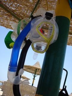 snorkel  equipment