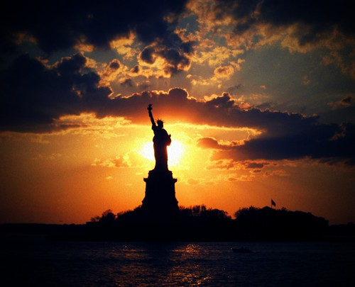 pakistan sunset sky usa newyork colors clouds liberty island freedom manhattan muslim pakistani statueofliberty constitution soe satueofliberty ellisisland themoulinrouge firstquality mywinners visiongroup thegardenofzen theroadtoheaven thegoldendreams goldstaraward vision100