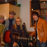 Aimee Mann with her Band in Studio A