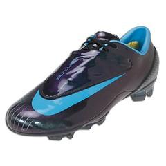 Nike Mercurial Vapor IV FG - Black Vivid Blue  5d117441d