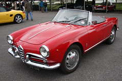 automobile, automotive exterior, alfa romeo, vehicle, alfa romeo giulietta, antique car, classic car, land vehicle, convertible, sports car,