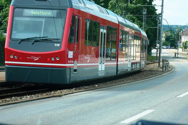 The local train, Feldbrunnen