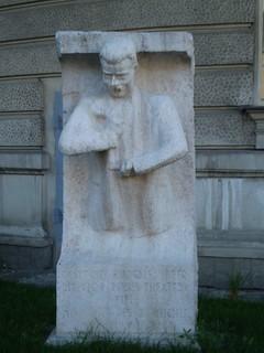 Image of Dr. Rudolf Beer. vienna statue rudolfbeer