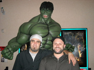 Hulk, Klessblog and Dawg