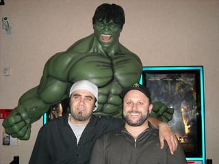 Hulk, Klessblog and Dawg