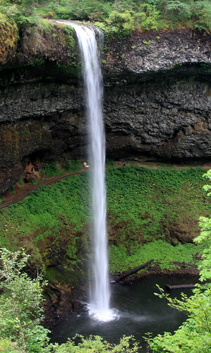 Frank Kovalchek's photo of the South Falls at Silver Falls State Park.