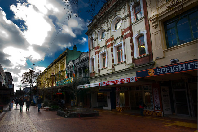 Cuba St , Wellington