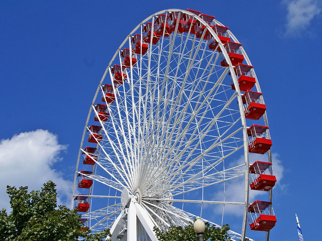 Chicago speed dating ferris wheel