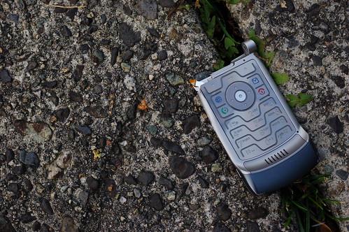 Busted keypad