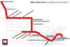 Metro Red Line Map 1 Lincoln Heights Duo Flickr