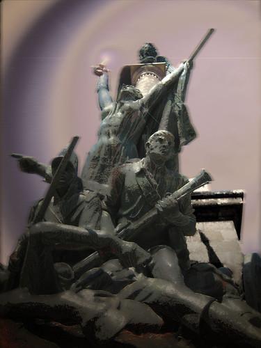 Monumento aos Heróis da Guerra Peninsular (Dramatización)