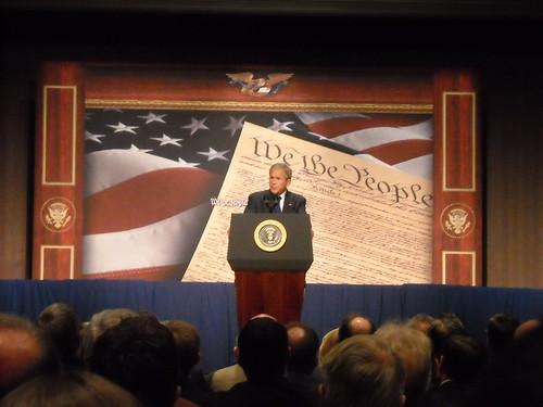 George Bush president