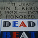 "#104: Variations on the Tombstone of Jack ""Ti Jean"" Kerouac"