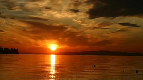 travel sunset nature